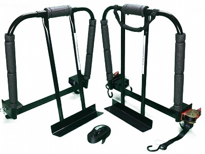 "Anderson  Gun Safe  Dolly 1600 lbs. 3"" Casters (set of 2)with retractable ratchets"